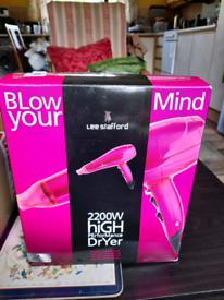Lee Stafford pink dryer