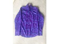 Hawed & Curtis purple shirt