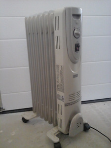 Oil-filled Radiator-style Space Heater