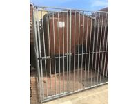 For sale dog run galvanised steel