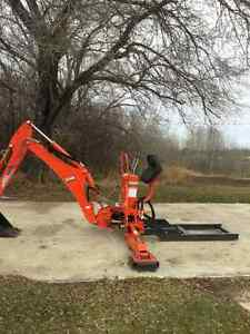 Kioti KB2485 backhoe attachment