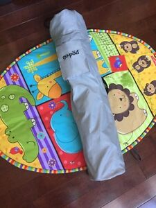 Infant playmat and go-pod (separate items being sold together )