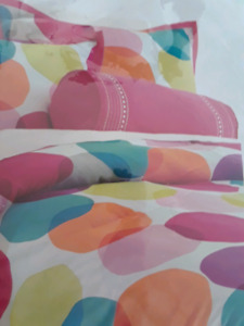 Get a new  bedroom! Twin comforter and more!    REDUCED PRICE!!