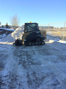 Skid Steer / Bob Cat Services-landscaping,snow, windrows Edmonton Edmonton Area image 3