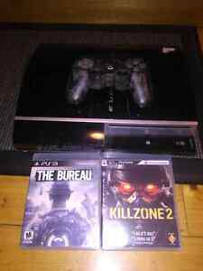 80 gb ps3 with 2 games