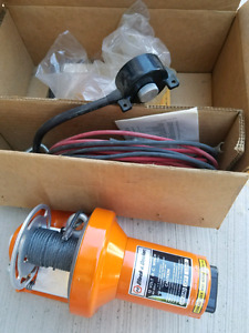 New Black & Decker 12V Winch