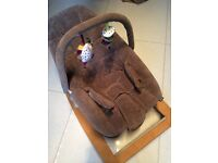 Mamas and Papas baby bouncer chair - as new
