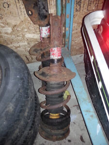 Sunfire front axles and struts