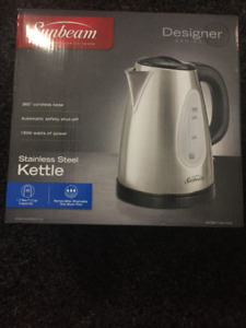 Sunbeam Stainless Steel Electric Kettle (brand-new)