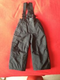 Toddler Ski Dungarees/Salopettes Age 2 years