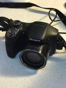 SONY CAMERA and Carrying case.  Its brand new
