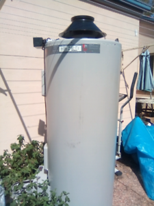 Rheem hot water natural gas system
