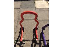 Front & rear paddock stand