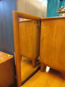 MID CENTURY MODERN ELM DRESSERS AND NIGHT TABLE Edmonton Edmonton Area image 8