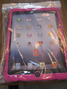 REDUCED: Brand new Deluxe pink case of an Ipad Air tablet