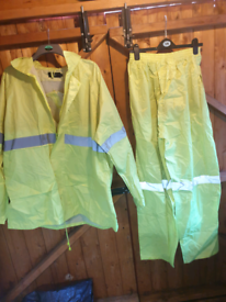 3xl work wear jacket and trousers £10 for both brand new