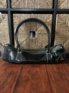 Fluterscooter Bag/Case - Perfect Condition Black Patent Leather