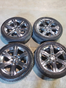 Cadillac escalade oem rims and tires