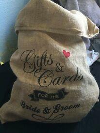 Wedding Gifts & Cards Bag