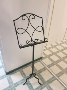 Music stand for sale - non-adjustable