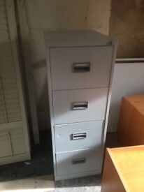 Office furniture and files