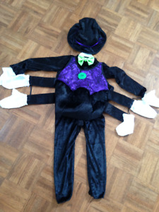 Itsy-Bitsy Spider child (3-4) Halloween costume