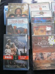 16 dvd-all new 3.00 each or 2 for 5.00
