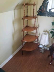 Wooden 5 Tier Shelf