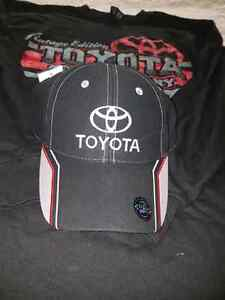 Toyota hat and shirt