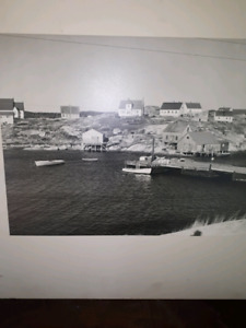 Vintage peggys cove pics on board