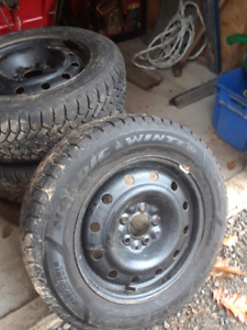 Winter Tires 215 / 60 R 16 plus rims