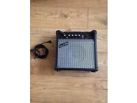 15 W Guitar Amp with lead