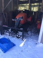 2002 simplicity legacy tractor with snowblower