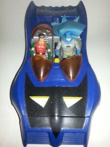 1986 Batmobile,By Kenner,complete with Robin and Batman