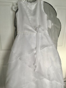 Girls Size 12 White Party Dress for Sale