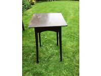 Small antique wooden table