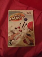 Game party for Wii