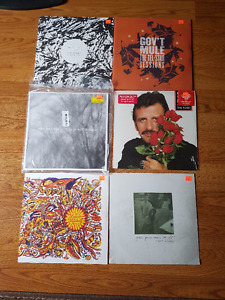 Music Records - Open Box Like New - Make an offer