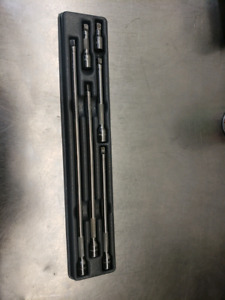 Snap on 1/4 drive extension set