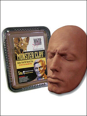 Monster Makers 5 lb. Monster Clay Premium MEDIUM Grade Modeling Clay