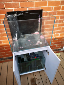 Marine tank reef fish tank aqua one and sump please read!