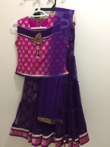 Indian Party wear dress ghagra(Brand New)