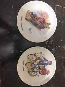Norman Rockwell collectors plates
