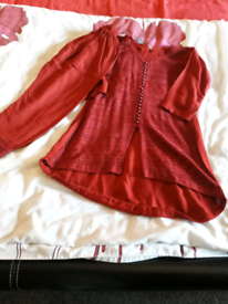 Asian suit girl size 24 3-4 year old