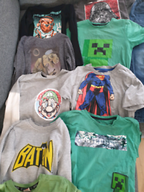 Bundle of boys clothes size 6-7 years in good, clean used condition.