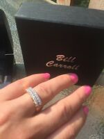 Exceptional 14K gold diamond engagement jewelry lot