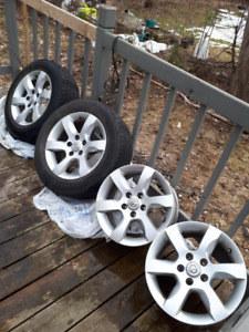 4 mags NISSAN 16'' with TPMS
