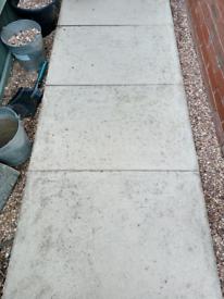 50 garden slabs SOLD