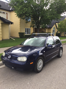 2001 Volkswagen Golf (2 door)
