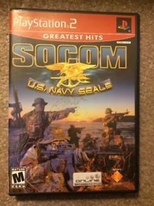PS2 - Socom US Navy Seals 3 game set